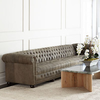 Old Hickory Tannery Wiley Leather Sofa