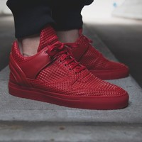 "Low Top Transformed ""Pyramid Red"""