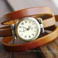 Ancient Rome watches, men and women all appropriate winding 3 ring watch, one of the most popular watches