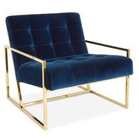 Jonathan Adler Goldfinger Chair | New Furniture | What's New! | Candelabra, Inc.