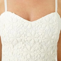 Daisy Lace Bustier