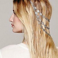 Heart of Gold  Silver Blossom Headpiece at Free People Clothing Boutique
