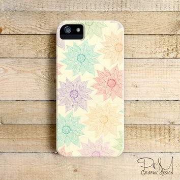 Spring Floral  - iPhone 5/5c case, iPhone 4/4s case, Samsung Galaxy S3/S4