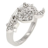 Triple Charm Ring, size : 08