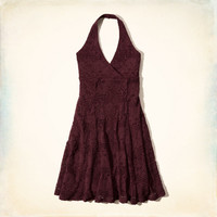 Hawthrone Lace Halter Dress