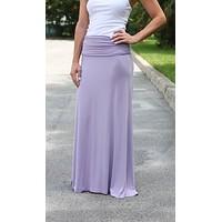 Feel Good Maxi Skirt – Lavender
