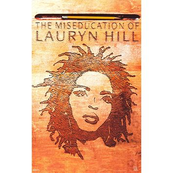 """Poster: The Miseducation of Lauryn Hill (22""""x34"""")"""
