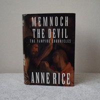 Memnoch The Devil, Anne Rice, The Vampire Chronicles // Hardcover, 1st Edition // Gothic Horror Literature, Goth Books