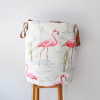 Flamingo XXL Hamper
