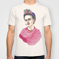 Frida Kahlo T-shirt by Barruf