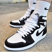 Nike Air Jordan 1 AJ1 Retro High Twist/Panda Sneakers Shoes