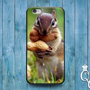 iPhone 4 4s 5 5s 5c 6 6s plus iPod Touch 4th 5th 6th Generation Cute Funny Nut Squirrel Girl Boy Animal Fun Phone Cover Adorable Custom Case