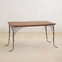Ajan Daeng Villatte Dining Table in Assorted Size: One Size Furniture