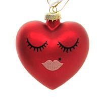 Holiday Ornaments Sweetheart Valentine's Day Love Kiss - GO4019