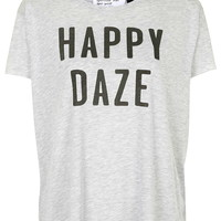 Happy Daze Tee By Tee And Cake - Topshop