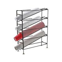 Winco CDR-4 4 Tier Cup Dispensing Rack