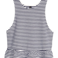 Tank Top with Ruffle - from H&M