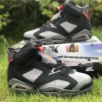 Air Jordan 6 Psg Paris Saint-germain Retro Iron Grey | Ck1229 001 Sneakers DCCK