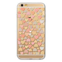 Painted Soft TPU Ultra Thin Transparent Phone Back Cover Case Shell for Apple iPhone 5 5s SE