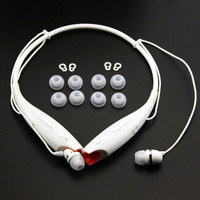 4 Pairs (8 Pieces) Middle Silicone Replacement Ear Buds Tips & 2 Pairs (4 Pieces) Replacement Plastic Hooks for Lg Tone Hbs-700 Hbs-730 Hbs-740 Hb-800 Bluetooth Stereo Headset = 1932081924