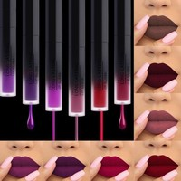 Sexy Beauty Lip Makeup Lipstick Velvet Long Lasting Liquid Matte Lipstick Lip Tattoo Pigment Nude Lip Tint Cosmetic Lipgloss