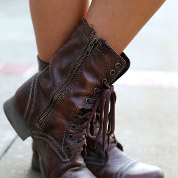 The Troopa Boots {Brown}