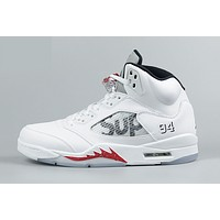 Best Deal AIR JORDAN 5 RETRO 'SUPREME' WHITE