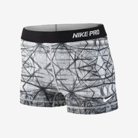 """Check it out. I found this Nike 2.5"""" Pro Hypercool Compression Printed Women's Shorts at Nike online."""
