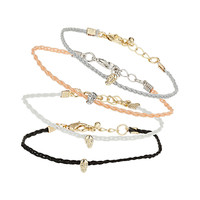 Skull Friendship Bracelet Pack - Jewelry - Bags & Accessories - Topshop USA