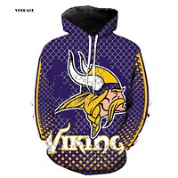 VOGRACE Christmas Style Man / Women 3d Sportswear Sweatshirt Print Gridding Iron Chain Cow Hoodie Hooded Dress Top Hoody Couple