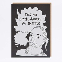 Snoop Dizzle Birthday Card - Urban Outfitters
