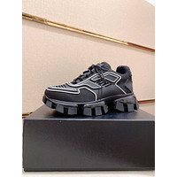 PRADA 2021 New Men Fashion  Breathable Platform Casual Running Sneakers Sports Shoes