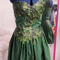 DC Comics Poison Ivy Inspired Casual Cosplay Dress / Costume