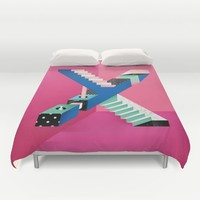 Impossible X Duvet Cover by Laura Avila