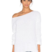 BB Dakota Susanna Sweater in Optic White