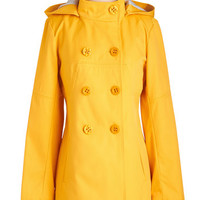 60s Long Long Sleeve Double Breasted Embolden Opportunity Coat