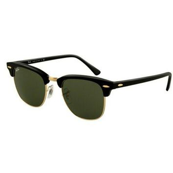 Ray-Ban Clubmaster Classic Black sunglasses 0RB3016 W0365 51