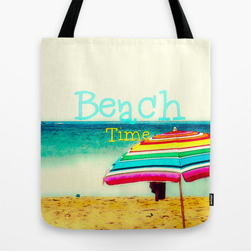 Beach time #3 Tote Bag by Armine Nersisian