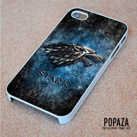 Game of throne Stark clan wolf logo iPhone 4 | 4S Case Cover