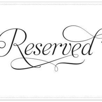 Reserved custom order for Autumn C.