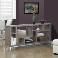 """Dark Taupe Reclaimed-Look 60""""L TV Console"""