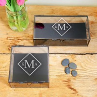 Personalized Glass Shadow Boxes