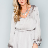 Show Me Your Mumu ~ Rainey Mini Dress ~ Silverdollar Silky