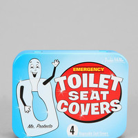 Emergency Toilet Seat Cover - Pack Of 4 - Urban Outfitters