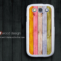 Colorized wood S3 cases Samsung Galaxy S3 i9300 Case Samsung cases Galaxy SIII unique Case