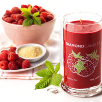 Raspberry Kiss Ring Candle