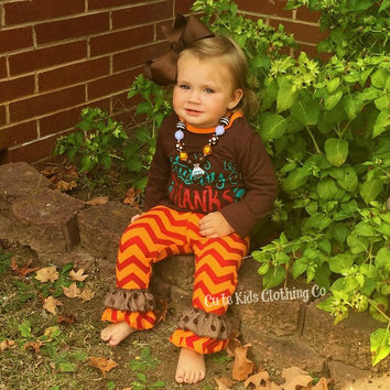 Happy Thanksgiving Chevron Outfit