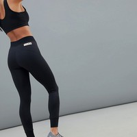 ASOS 4505 Petite gym legging with seam detail at asos.com