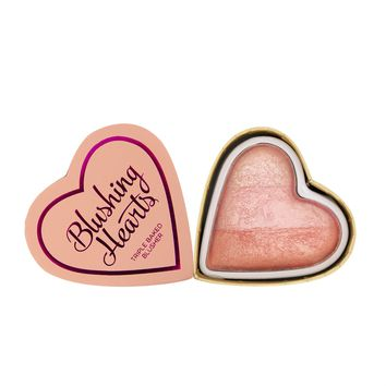 I Heart Revolution Blushing Hearts - Peachy Pink Kisses | RevolutionBeauty.com