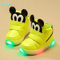 new arrival top sale Children shoes girls boys luminous shoes Baby Casual causual led Shoes kids Flasher Luminous Sneakers